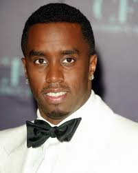 Sean Combs in a tux