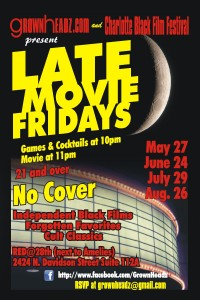 Late Movie Fridays Flier