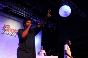 Ice Cube and DJ Drama live at The Fillmore